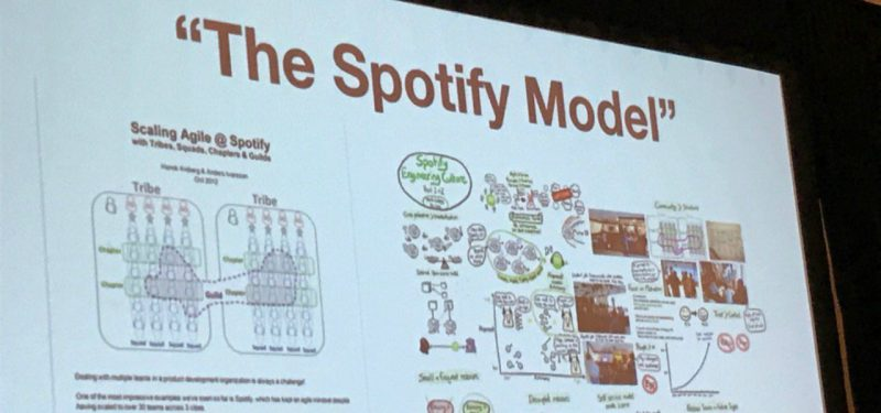 Spotify presentation at Agile2017