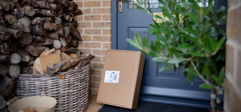 Package on doorstep
