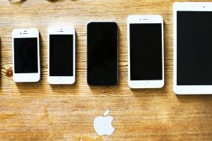 Line of Apple devices