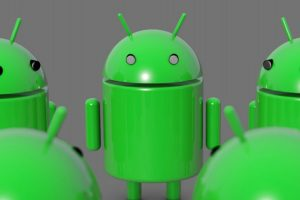 Android mascots